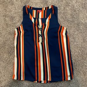 Guess Striped Sleeveless Shirt
